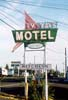 TV Motel sign