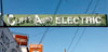 Cliff's Auto Electric sign