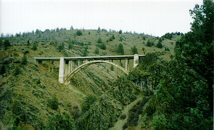 Dry Gulch Bridge.