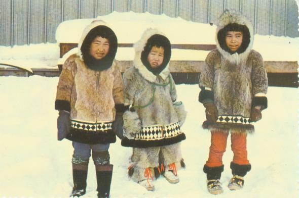 furry Eskimo cuties