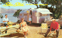 Silver Streak travel trailer family