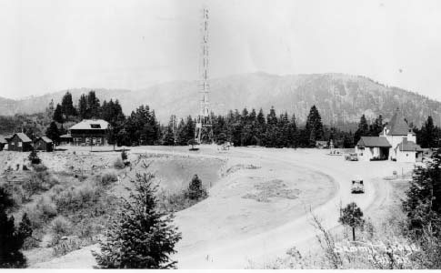 Richfield Beacon Station on Siskiyou Summit