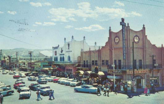 Tiajuana, Mexico, Dec. 1957.